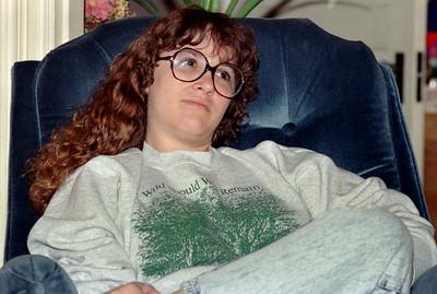 Lisa. Christmas at Norma's, 1990.