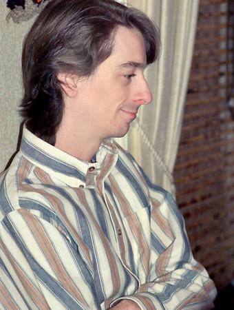 David Wright. Christmas at Norma's, 1990