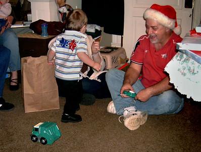 Simon and Keith. Christmas at Norma's, 2006. (File name is incorrect.)
