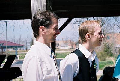 David and Brandon, April 2008.