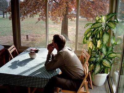 David. Thanksgiving at Cara's, 2005.