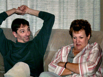David and Marcia Wright. Christmas at Norma's, 2006.