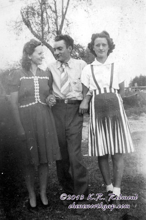 Sybil, Dad, and a Friend