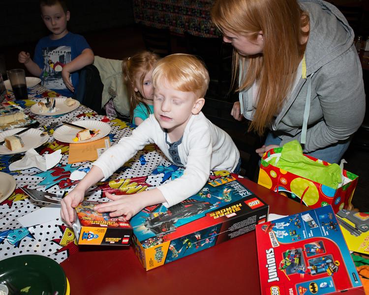Logan's 5th Birthday Party More Legos!