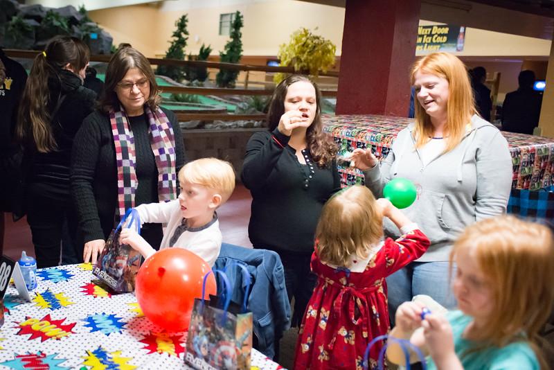 Logan's 5th Birthday Party