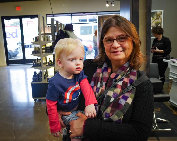Levi with Grandma