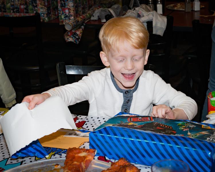 Logan's 5th Birthday Party Legos!