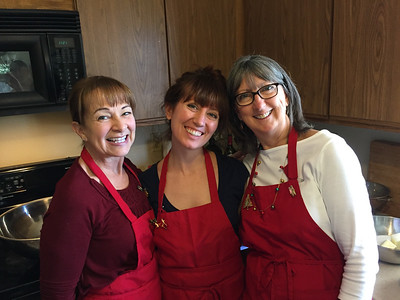 Mary, Hilary, and Stephanie Cookie Bake Queens - Cookie Bake 2016