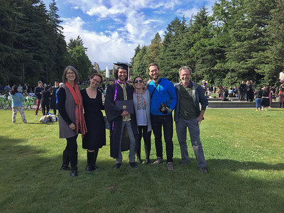 David's Graduation University of Washington