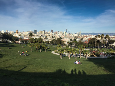 Dolores Park - Family Thanksgiving in San Francisco
