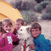 Camping in Anza Borrego with Fluffy