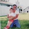 Hilary with Grandpa Longstreet Aug 1992