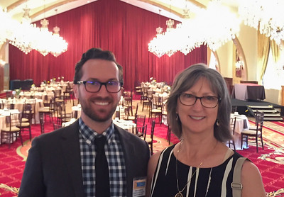 Proud Mom with Sean USC Town & Gown Hall - Teacher of the Year Awards Luncheon - USC and Venice  - Stephanie's photo
