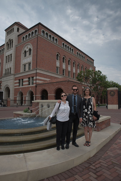 Kamille, Sean, and Stephanie - Teacher of the Year Awards Luncheon - USC and Venice