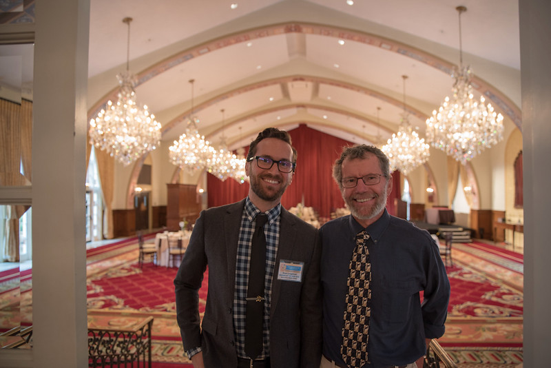 Proud Dad with Sean - USC Town & Gown Hall - Teacher of the Year Awards Luncheon - USC and Venice
