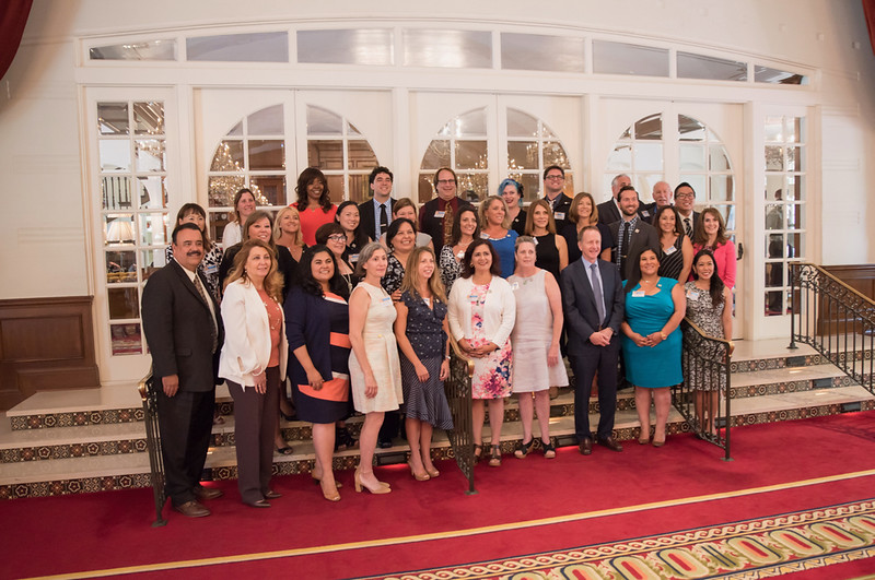 Awardees, board members, and others USC Town & Gown Hall - Sean Teacher of the Year Awards Luncheon - USC and Venice