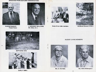 Cartledge Creek Baptist Church History