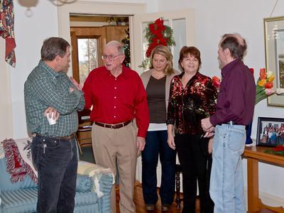 Christmas at Glenda and Steve's Home 2011