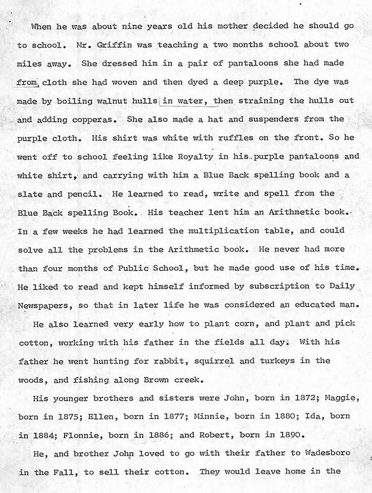 T.G. Thomas Biography - 1870 - 1967