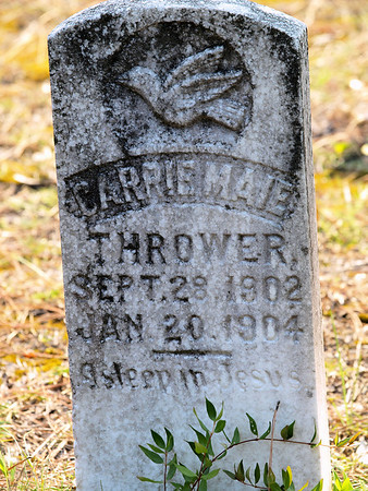 Carrie Maie Thrower  BORN:  DIED:
