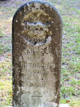 Thrower Covington family cemetary - Rockingham, NC  BORN:  DIED: