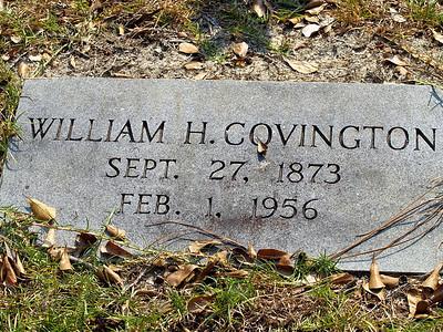 William H. Covington  - Rockingham, NC  BORN:  DIED: