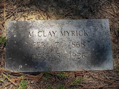 Myrick - Rockingham, NC  BORN:  DIED: