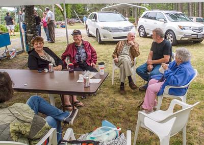 2012 Thomas Reunion at Steve and Glenda's house in Rockingham, NC