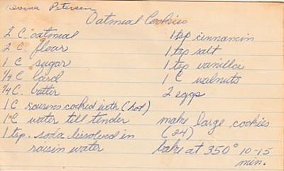 Doris Tichenor Recipe