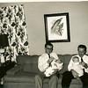 Otto K Whittington Jr., Tom Whittington, T Shaw, Leon Shaw. Unknown location