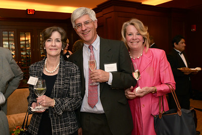 Honorary Event Chair Kristin Servison of Brookline, Mass., with Robert and Donna Storer.