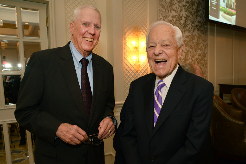 David Hartman and Bob Schieffer