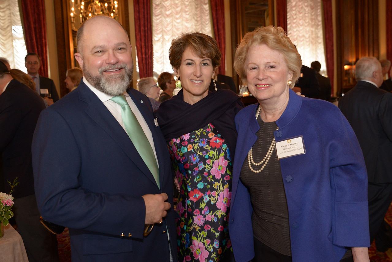 Brenton Simons, Stacy Schiff, and Nancy Maulsby