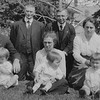 Seymour Edmunds,   Uzell Eric Reeves,   Fred Langrock, Lettie Langrock<br /> Lawrence, Olivia with Donald, Lorraine