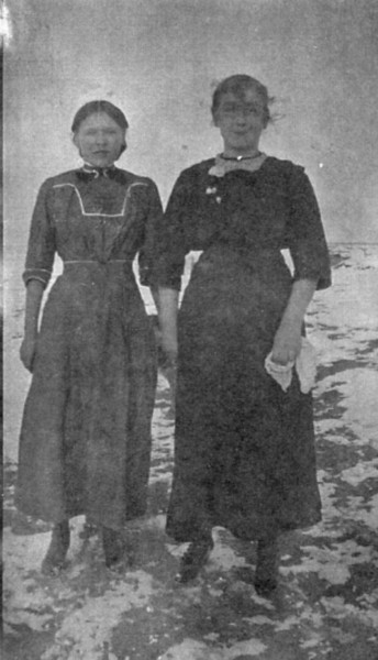 Alma Johnson(Sells) and a friend
