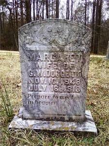 Margaret, Wife of George Washington Doggett Sr.