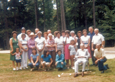 1986 Wood Doggett Family Reunion