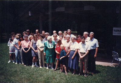 1997 Wood Doggett Family Reunion