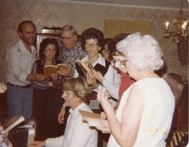 1981 or 1982 Wood Doggett Family Reunion