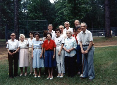1989 Wood Doggett Family Reunion