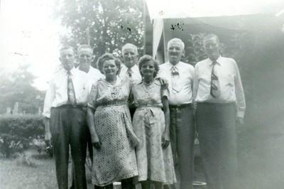 Parnell Siblings, sometime in 1940's