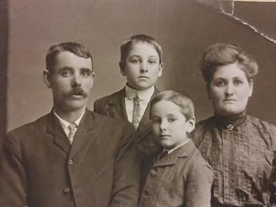 Alvin Estep and Family
