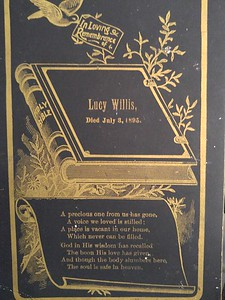Lucy Willis unknown relation