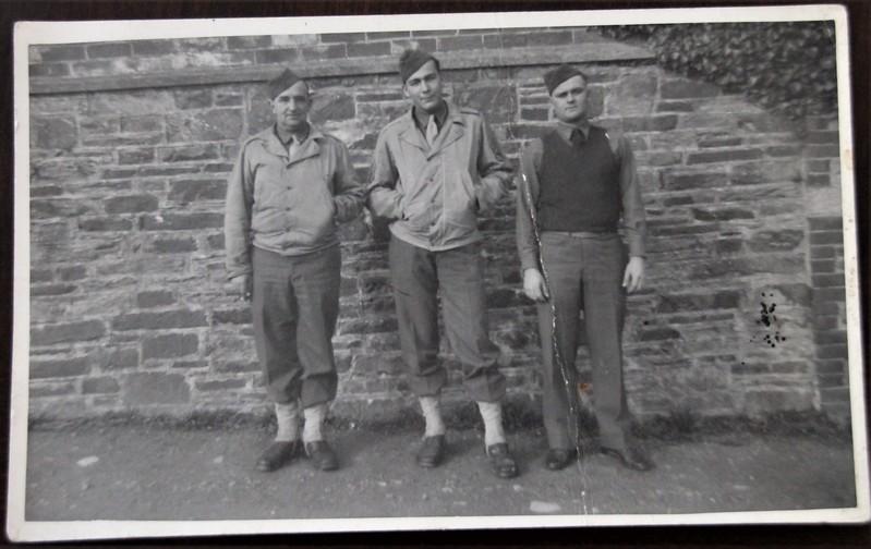 Army Buddies WWII England