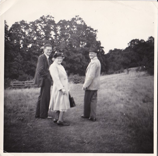Bill (friend), Isabell Gregg Hendy, Uncle Don<br /> In Sandy<br /> 1951
