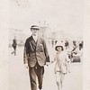 Sidney Godwin Hendy with daughter, Margaret Ruth Hendy (Bodily)<br /> at approx. 8 years old.