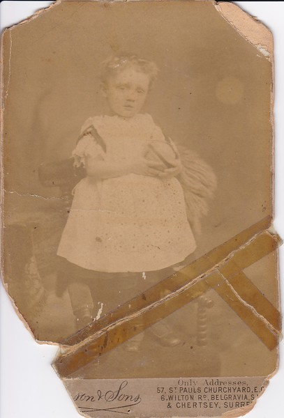Sidney Godwin Hendy - Age 2
