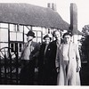 David Donald (Uncle Don) Gregg,  Beatrice May (Auntie May), Edith Wolsey, Isabell Gregg Hendy.<br /> 1955