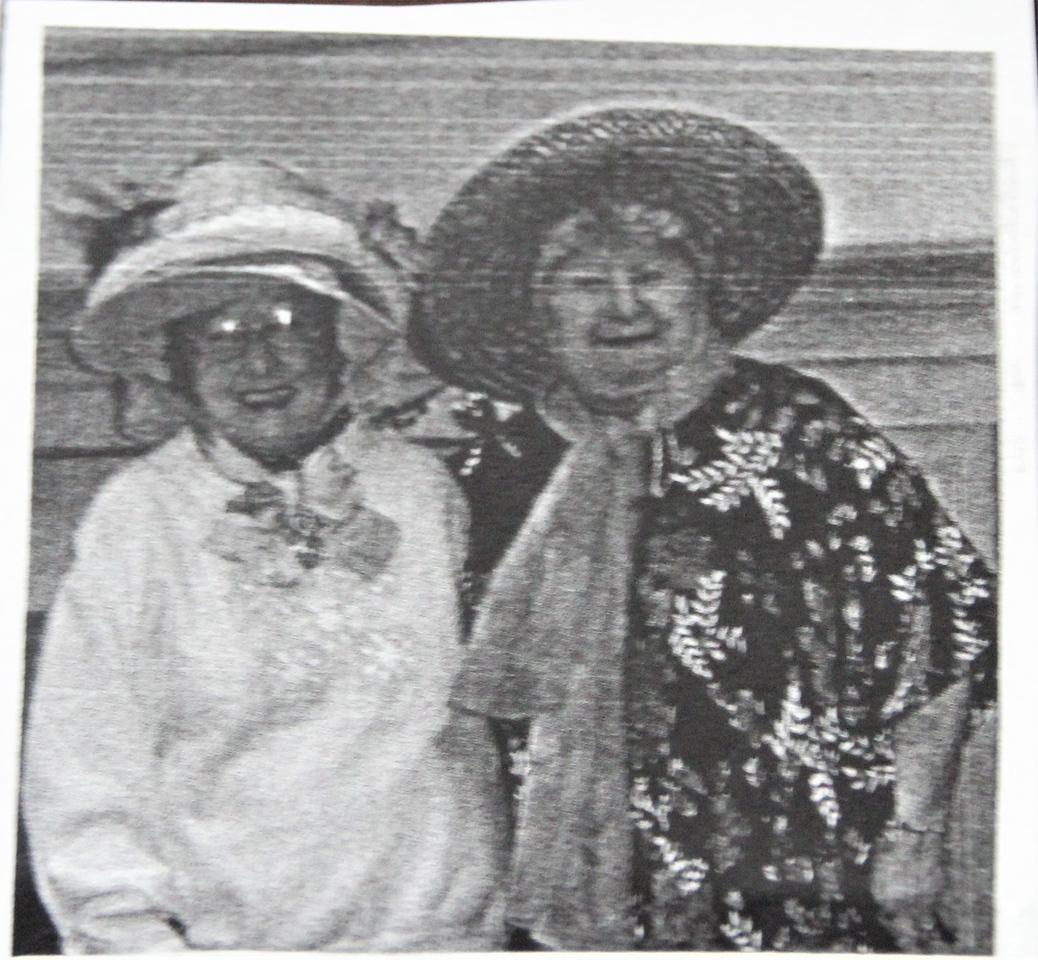 Margaret Ruth Hendy (Bodily) and friend