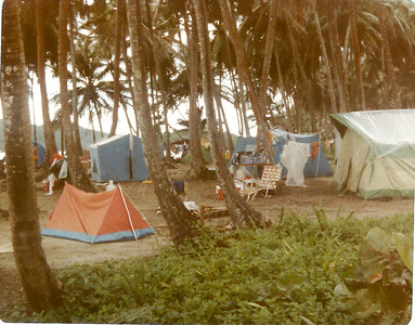 Our camping trip to Isla Mame